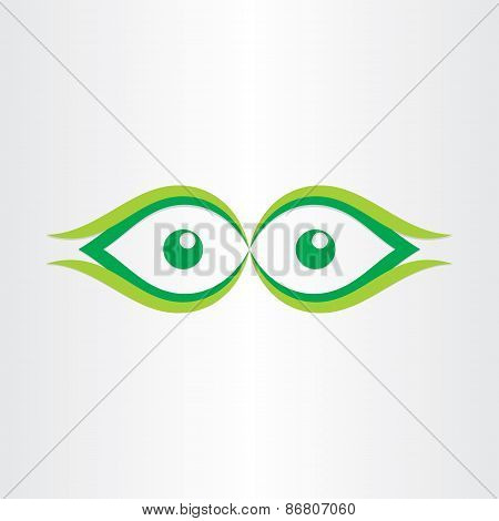 Human Eyes Stylized Icon