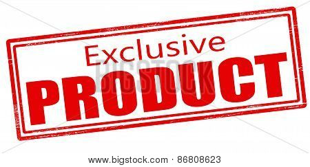 Exclusive Product