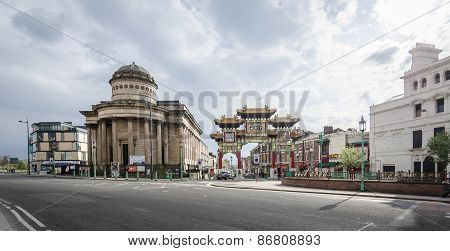The Blackie And China Town Entrance, Liverpool