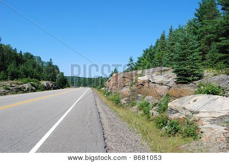Road in Algonquin Park