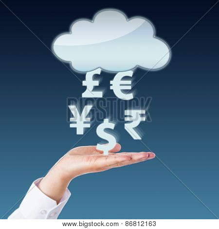 Currency Transfer Between Void Cloud And Open Hand