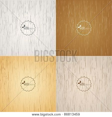 Set Light wood background.