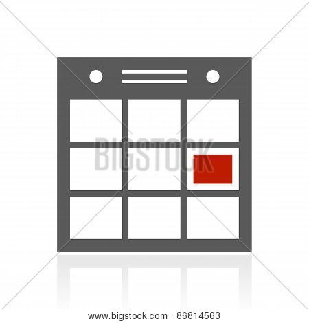 Color Schedule Icon