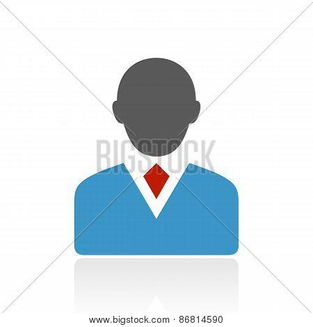 Color Businessman Icon
