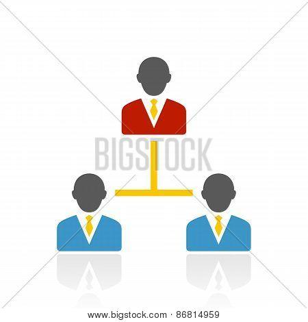 Color Leadership Icon