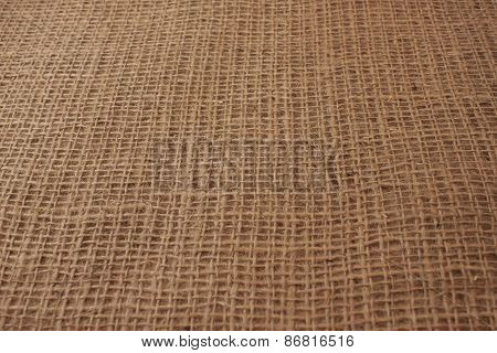 Brown Texture Of The New Burlap