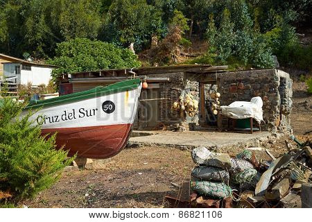 Cottage on Robinson Crusoe Island