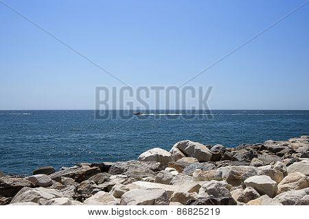 Boat In Summer Puerto Banus