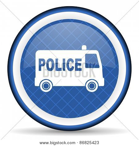 police blue icon