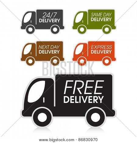 Various truck delivery options.