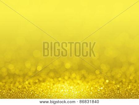 Gold glittering background.