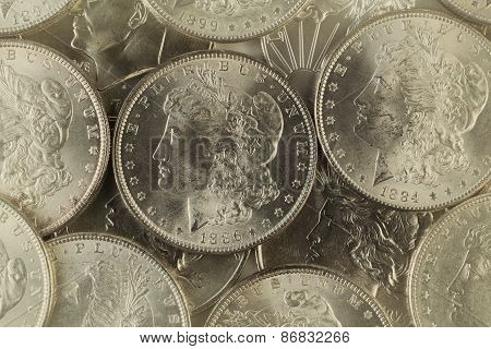 Old Silver Coins From United States