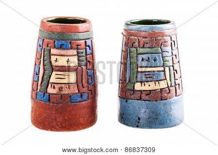 Mexican Inca Vase