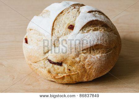 Round Whole Grain Bread
