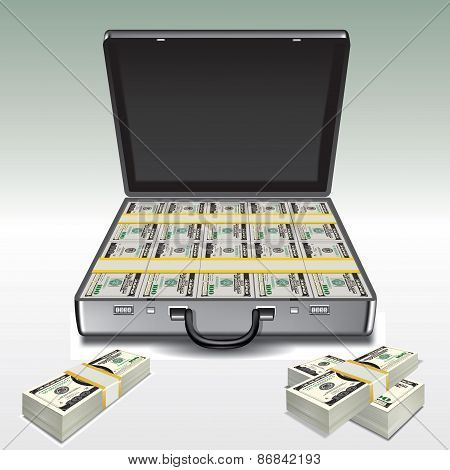 Suitcase With Money