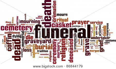 Funeral Word Cloud