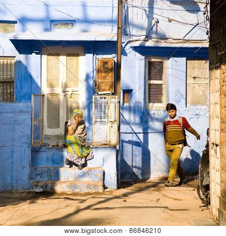 Street Scene, Jodhpur, India