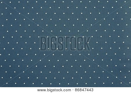 Background Of Blue Color With Round Specks