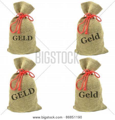 German money bags