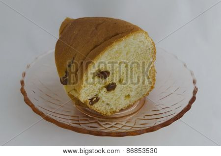 Easter cake with  raisin