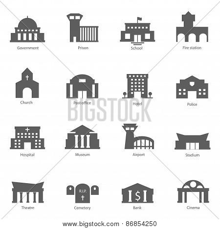 Set of government buildings