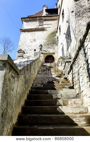 Entrance to Bran Castle