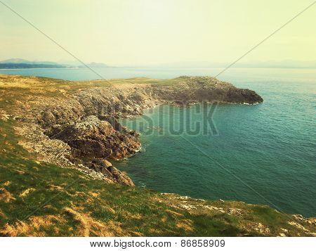 seaside coastline