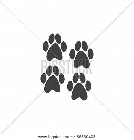 Four Paws Prints