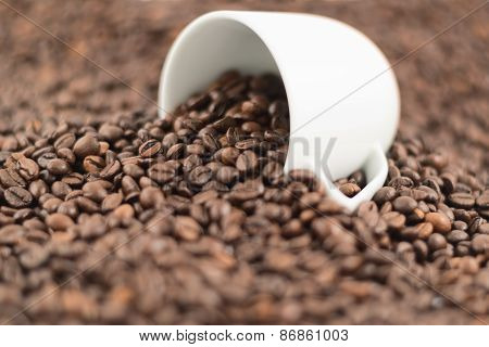Shallow DOF coffee background