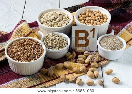 Foods Rich In Vitamin B1