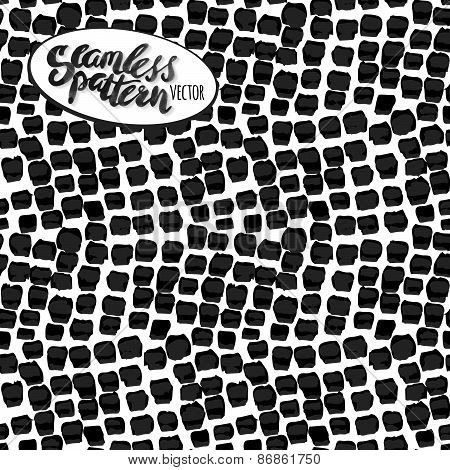 Hand Drawn Seamless Watercolor Brush Pattern,fashionable Sophisticated Shade.