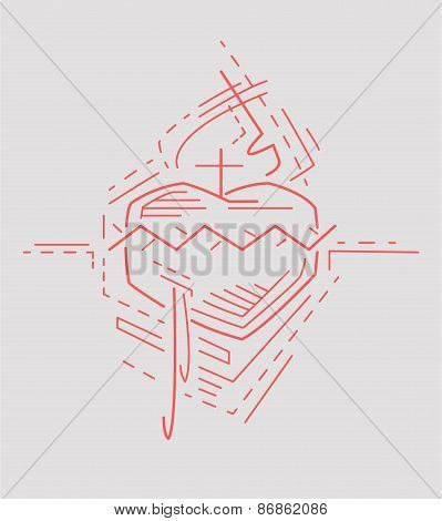 Jesus Sacred Heart j