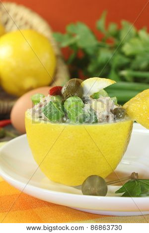 Stuffed Lemons With Parsley