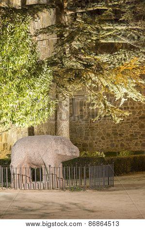 Stone Bull Avila