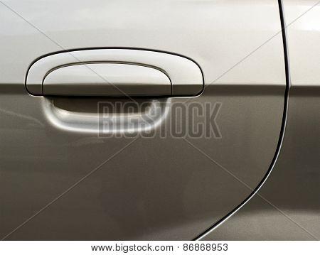 Car's door fragment