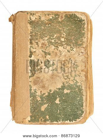 Old decrepit book cover