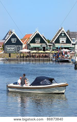 Boat Marken Holland