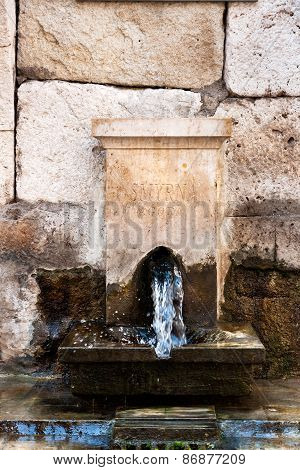 Smyrna, Ancient Fountain