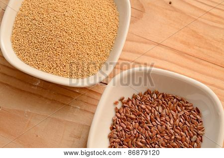 Amaranth And Flaxseed