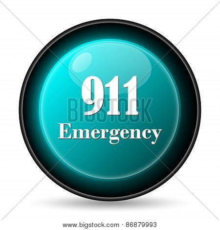 911 Emergency Icon