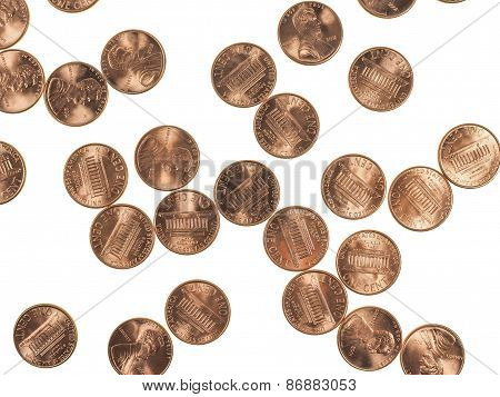 Coins 1 Cent Penny