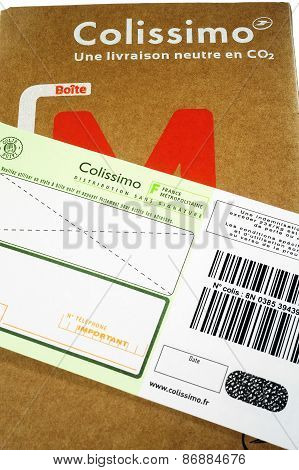 Mailing Carton Sold By The French Post