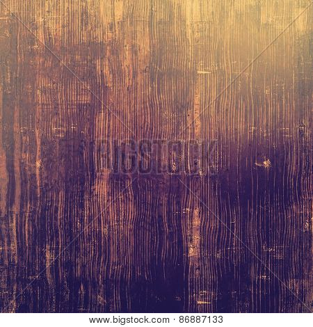 Aging grunge texture designed as abstract old background. With different color patterns: yellow (beige); brown; gray; purple (violet)