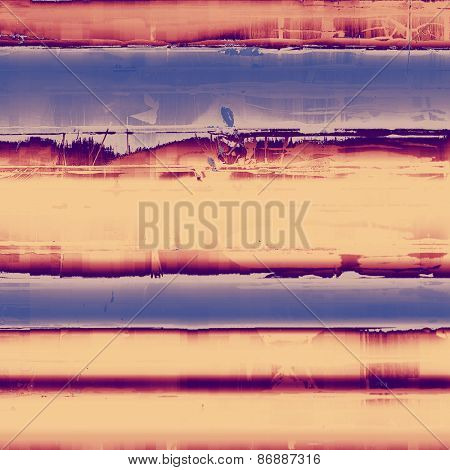 Aged grunge texture. With different color patterns: yellow (beige); brown; blue; purple (violet)