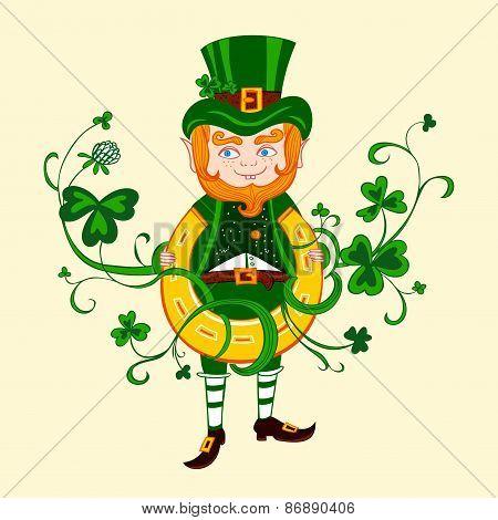 Illustration of Saint Patrick.