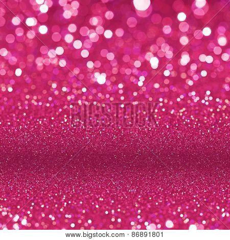 Red glitter poster board