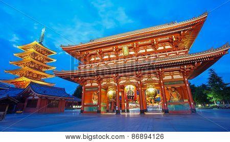 Sensoji Asakusa temple