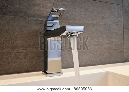 Very High End Faucet, Sink, And Counter