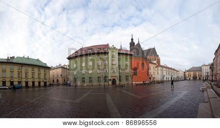 Maly Rynok Square, Krakow