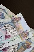 pic of dirhams  - UAE currency  - JPG